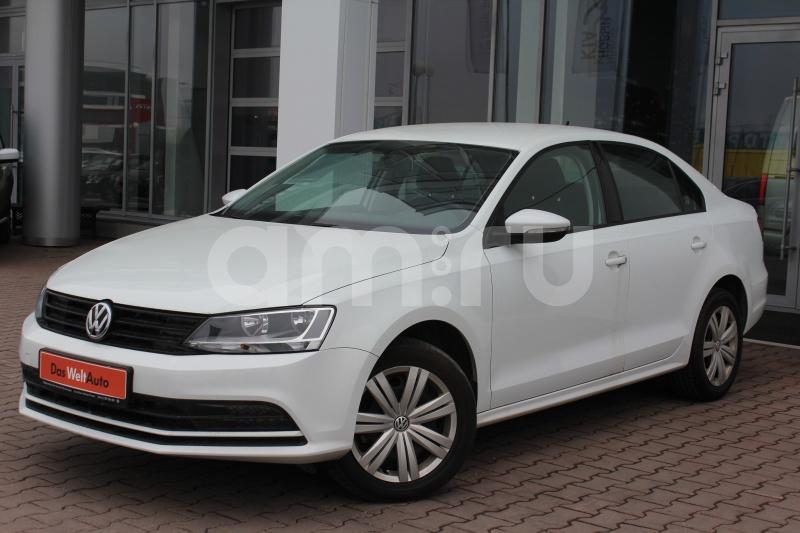 Volkswagen Jetta с пробегом, белый , отличное состояние, 2016 года выпуска, цена 799 000 руб. в автосалоне Автобан-Запад (Екатеринбург, ул. Металлургов, д. 67)