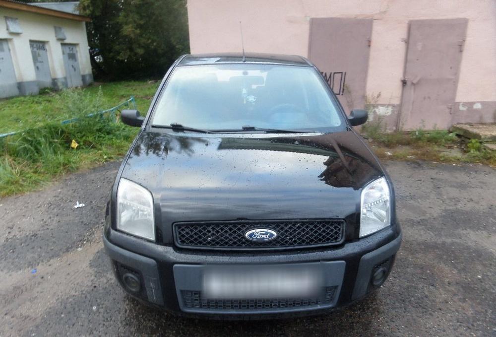 Подержанный Ford Fusion, отличное состояние, черный , 2005 года выпуска, цена 275 000 руб. в Крыму