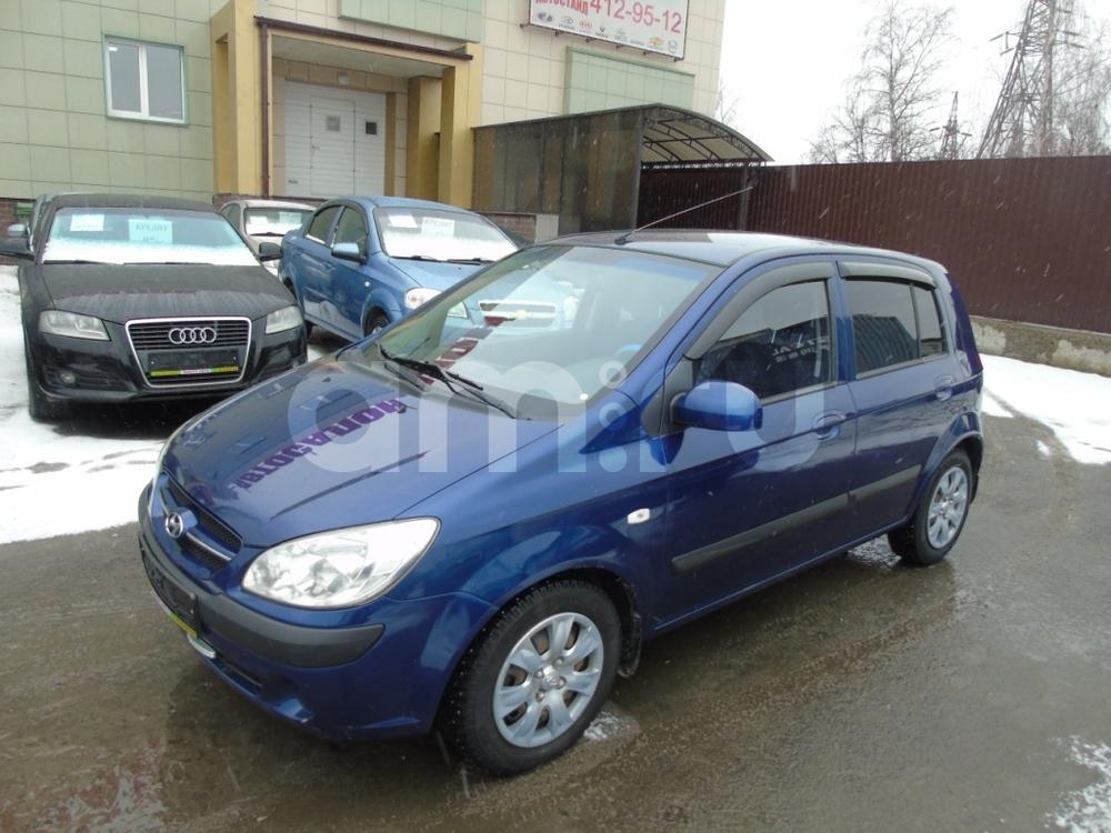Hyundai Getz с пробегом, синий , отличное состояние, 2008 года выпуска, цена 285 000 руб. в автосалоне  ()