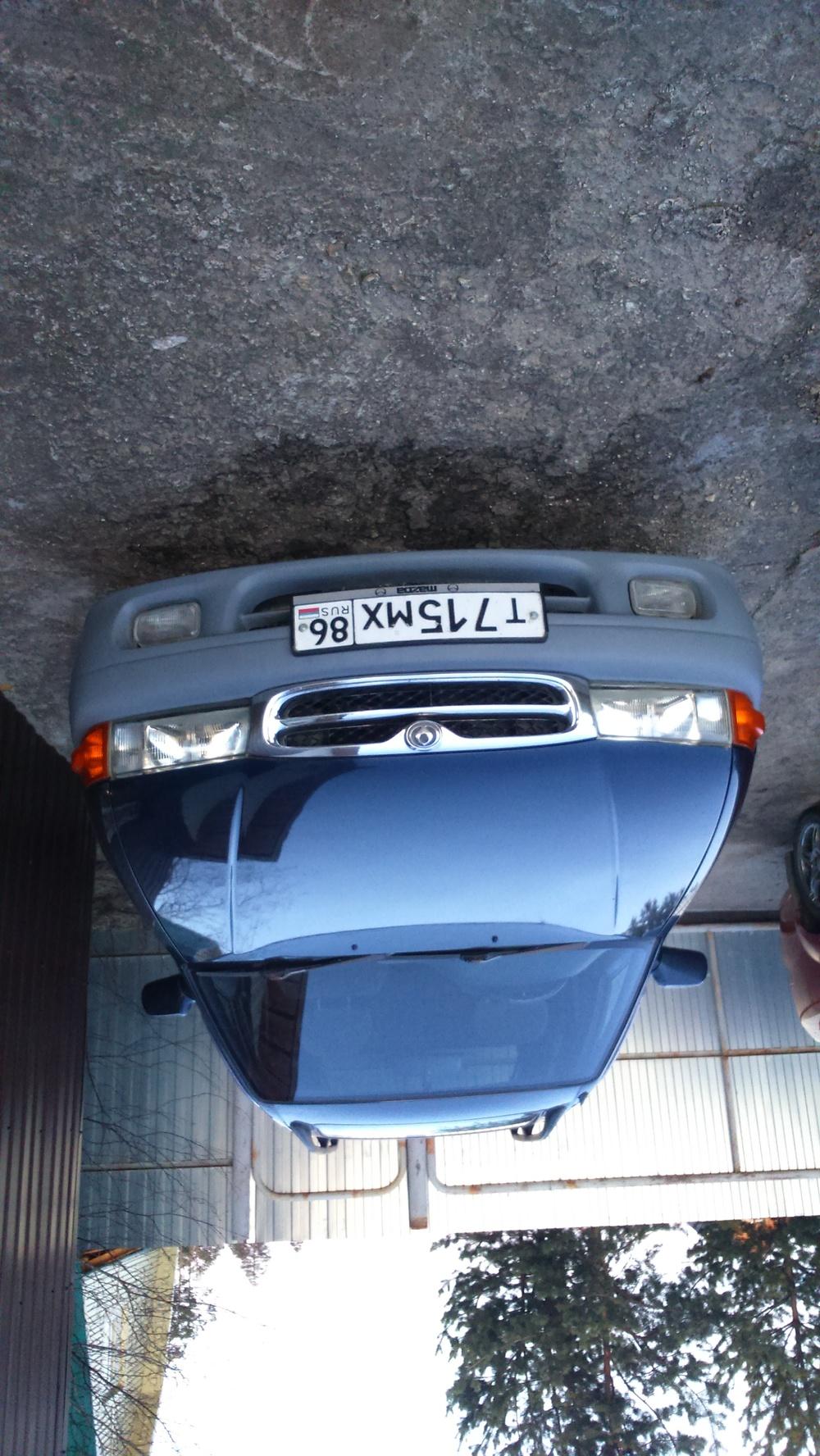 Подержанный Mazda Capella, хорошее состояние, синий , 1996 года выпуска, цена 140 000 руб. в ао. Ханты-Мансийском Автономном округе - Югре