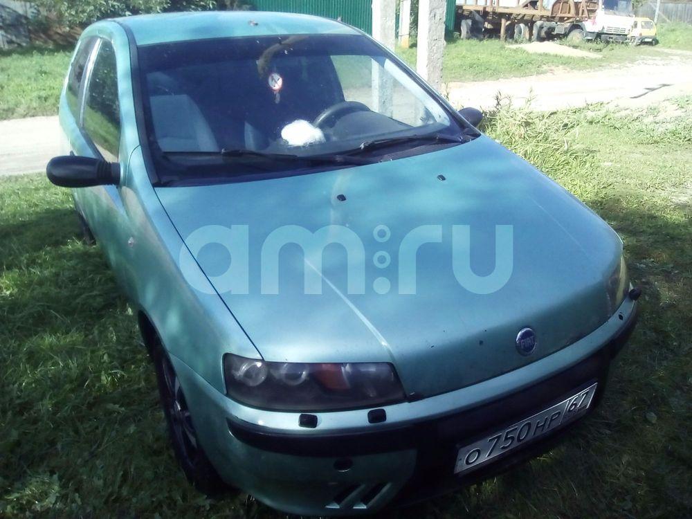 Подержанный Fiat Punto, хорошее состояние, салатовый , 2002 года выпуска, цена 130 000 руб. в Смоленской области