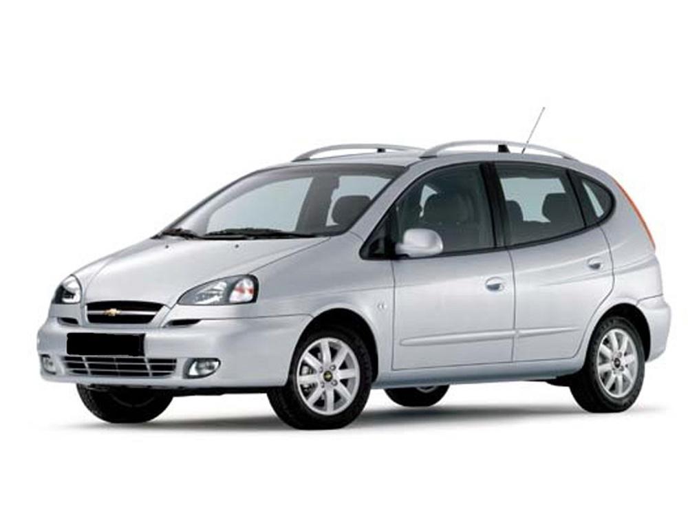 Подержанный Chevrolet Rezzo, хорошее состояние, серебряный , 2007 года выпуска, цена 270 000 руб. в республике Татарстане