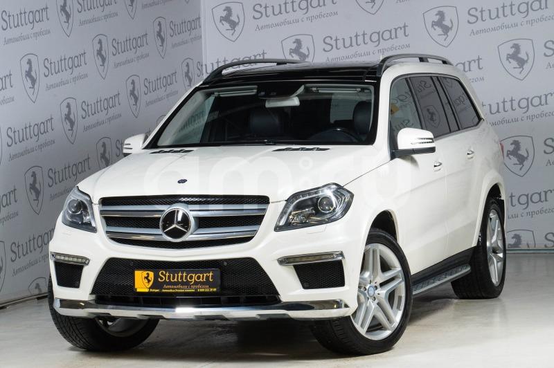 Mercedes-Benz GL-Класс с пробегом, белый , отличное состояние, 2012 года выпуска, цена 2 650 000 руб. в автосалоне Stuttgart (Екатеринбург, ул. Металлургов, д. 84(напротив ТЦ «Мега»))