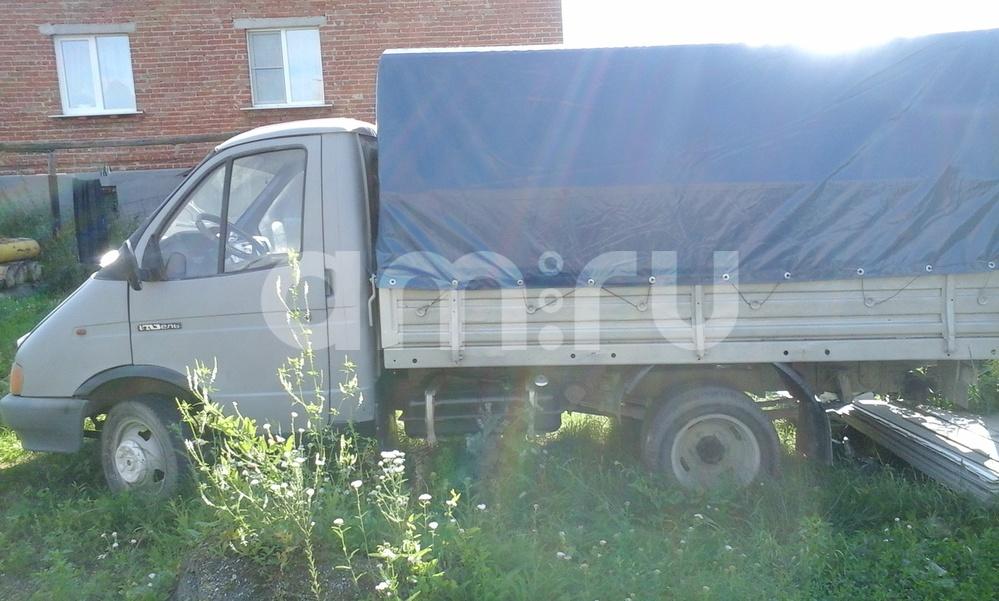 Подержанный ГАЗ Газель, среднее состояние, серый матовый, 1997 года выпуска, цена 90 000 руб. в Челябинской области