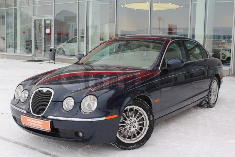 Jaguar S-Type с пробегом, синий , отличное состояние, 2006 года выпуска, цена 449 000 руб. в автосалоне  ()