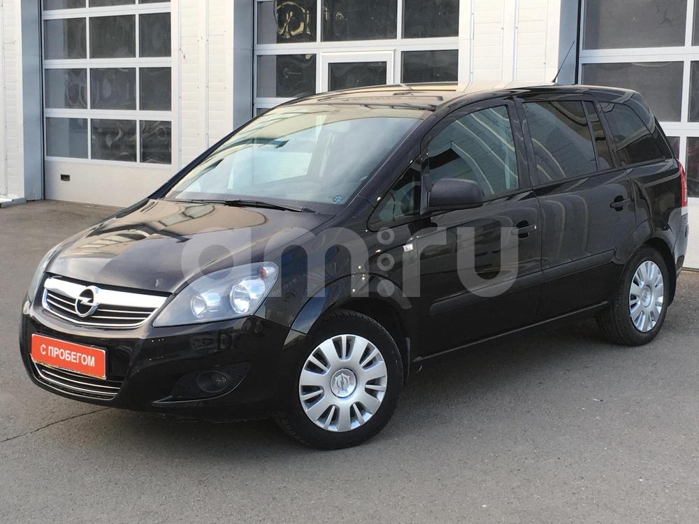 Opel Zafira с пробегом, черный металлик, хорошее состояние, 2011 года выпуска, цена 495 000 руб. в автосалоне МАРКА Казань (Казань, ул. Маршала Чуйкова, д. 54Б)