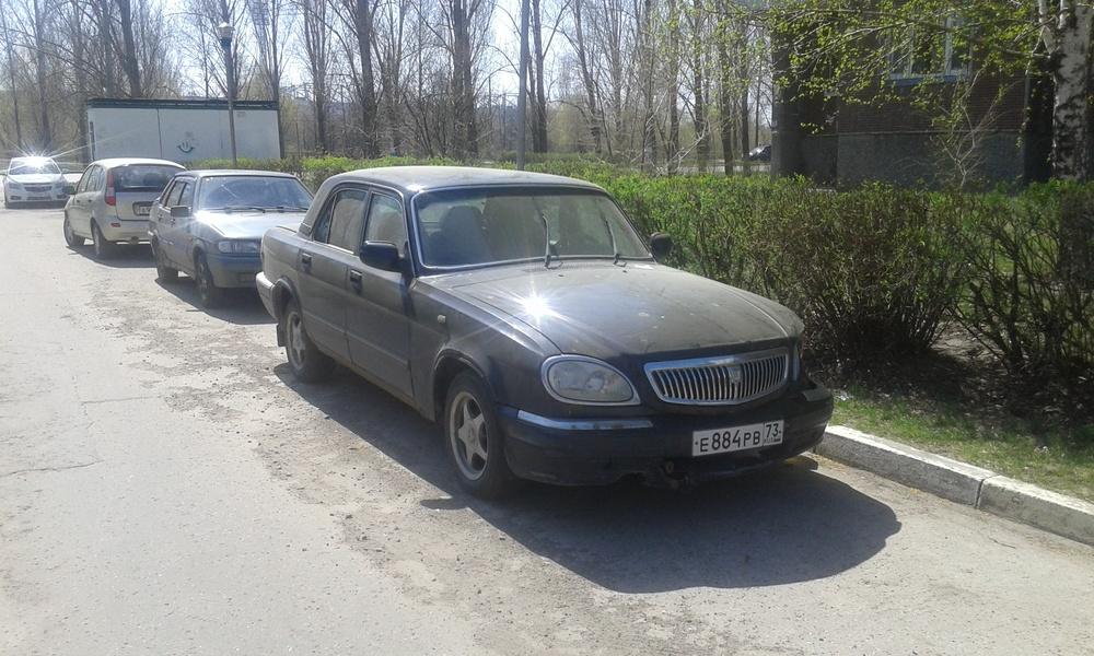 Подержанный ГАЗ 31105 Волга, хорошее состояние, черный , 2006 года выпуска, цена 78 000 руб. в Ульяновске
