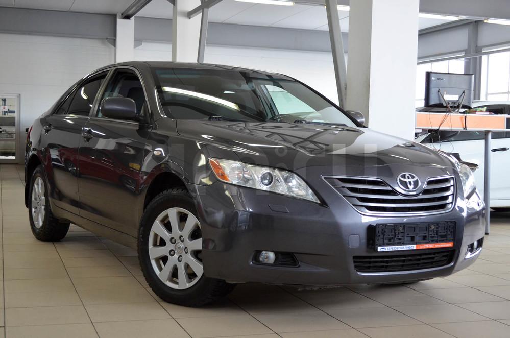 Toyota Camry с пробегом, серый , отличное состояние, 2007 года выпуска, цена 649 000 руб. в автосалоне  ()
