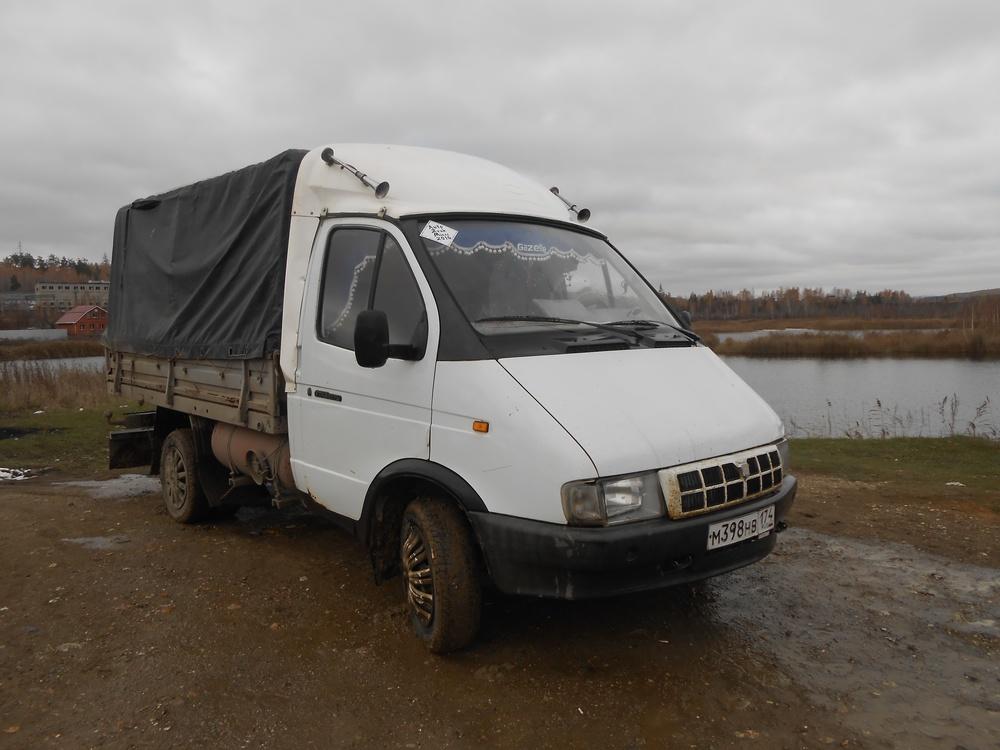Подержанный ГАЗ Газель, хорошее состояние, белый , 2001 года выпуска, цена 145 000 руб. в Челябинской области