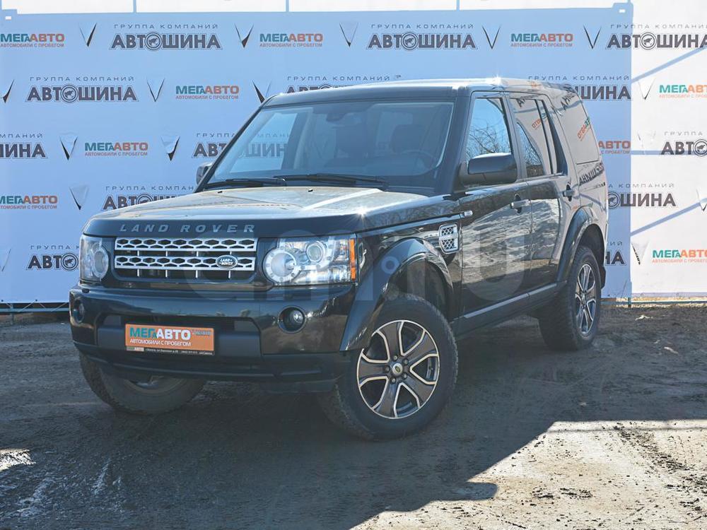 Land Rover Discovery с пробегом, черный , отличное состояние, 2012 года выпуска, цена 1 400 000 руб. в автосалоне Мега Авто Калуга (Калуга, ул. Зерновая, д. 28)