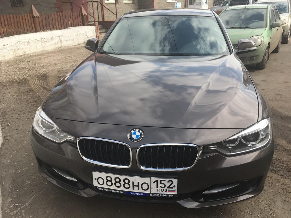 Подержанный BMW 3 серия, отличное состояние, коричневый , 2015 года выпуска, цена 1 409 000 руб. в Нижнем Новгороде