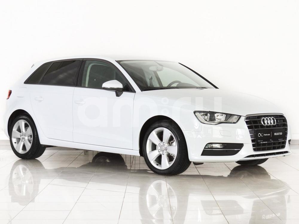 Audi A3 с пробегом, белый , отличное состояние, 2014 года выпуска, цена 1 299 000 руб. в автосалоне FRESH Нижний Новгород (Нижний Новгород, ул. Коминтерна, д. 31Ж)