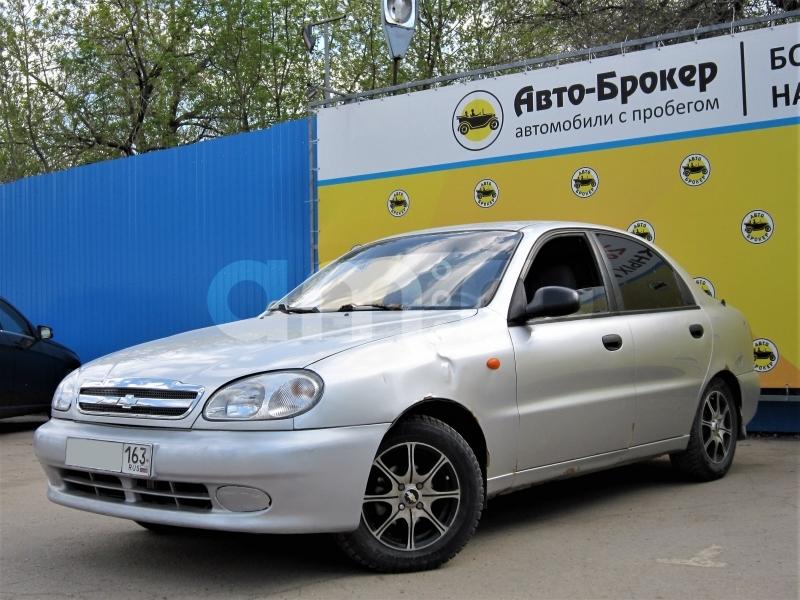 Chevrolet Lanos с пробегом, серебряный , отличное состояние, 2005 года выпуска, цена 99 000 руб. в автосалоне  ()
