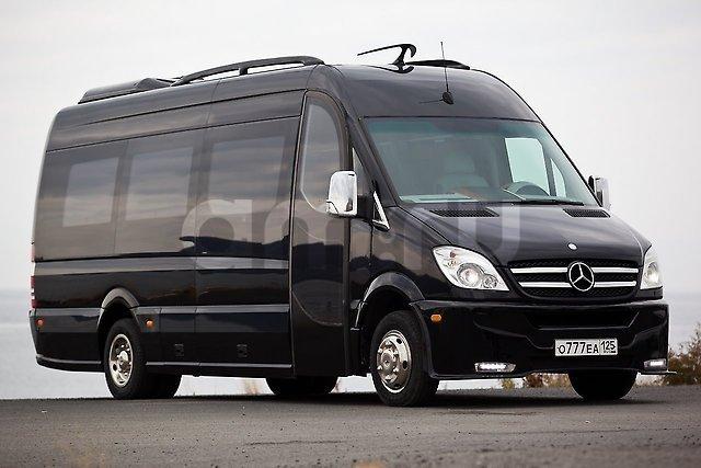 Подержанный Mercedes-Benz Sprinter, отличное состояние, черный , 2014 года выпуска, цена 5 000 000 руб. в Владивостоке