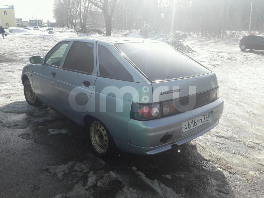 Подержанный ВАЗ (Lada) 2112, хорошее состояние, голубой , 2007 года выпуска, цена 120 000 руб. в Ульяновской области