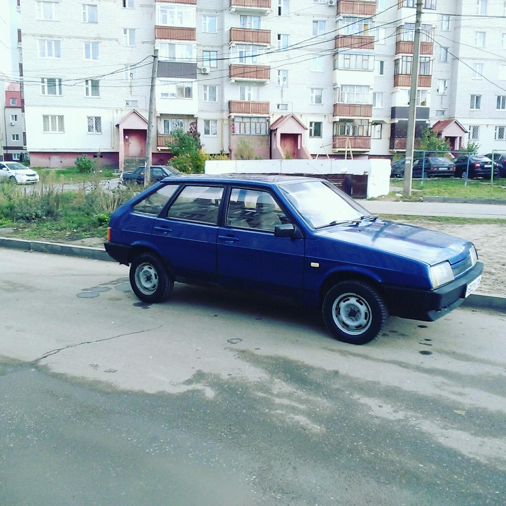 Подержанный ВАЗ (Lada) 2109, отличное состояние, синий бриллиант, 2001 года выпуска, цена 80 000 руб. в республике Татарстане