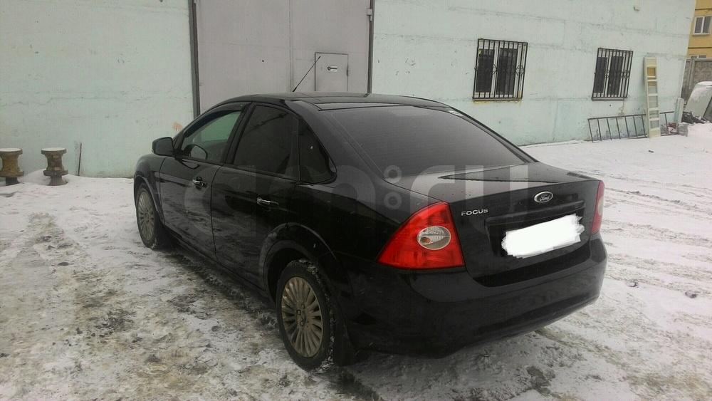 Подержанный Ford Focus, отличное состояние, черный , 2010 года выпуска, цена 420 000 руб. в Челябинской области