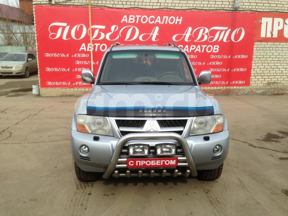 Mitsubishi Pajero с пробегом, серебряный , отличное состояние, 2006 года выпуска, цена 639 000 руб. в автосалоне Победа-Авто (Саратов, ул. Чапаева, д. 173)