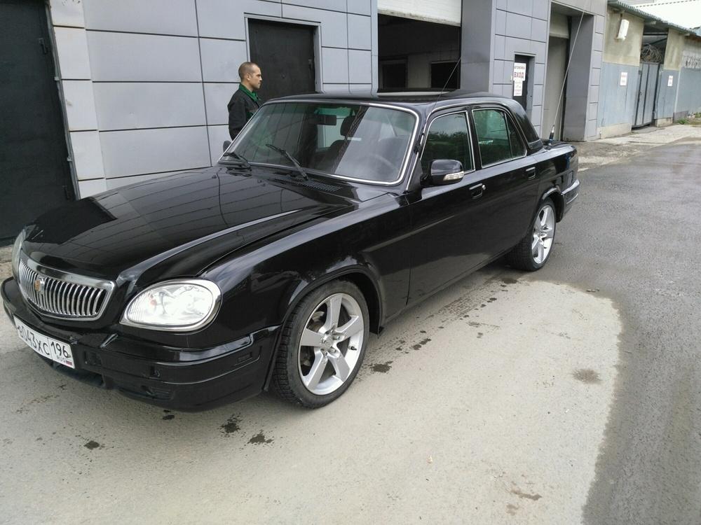 Подержанный ГАЗ 31105 Волга, хорошее состояние, черный , 2007 года выпуска, цена 195 000 руб. в Екатеринбурге