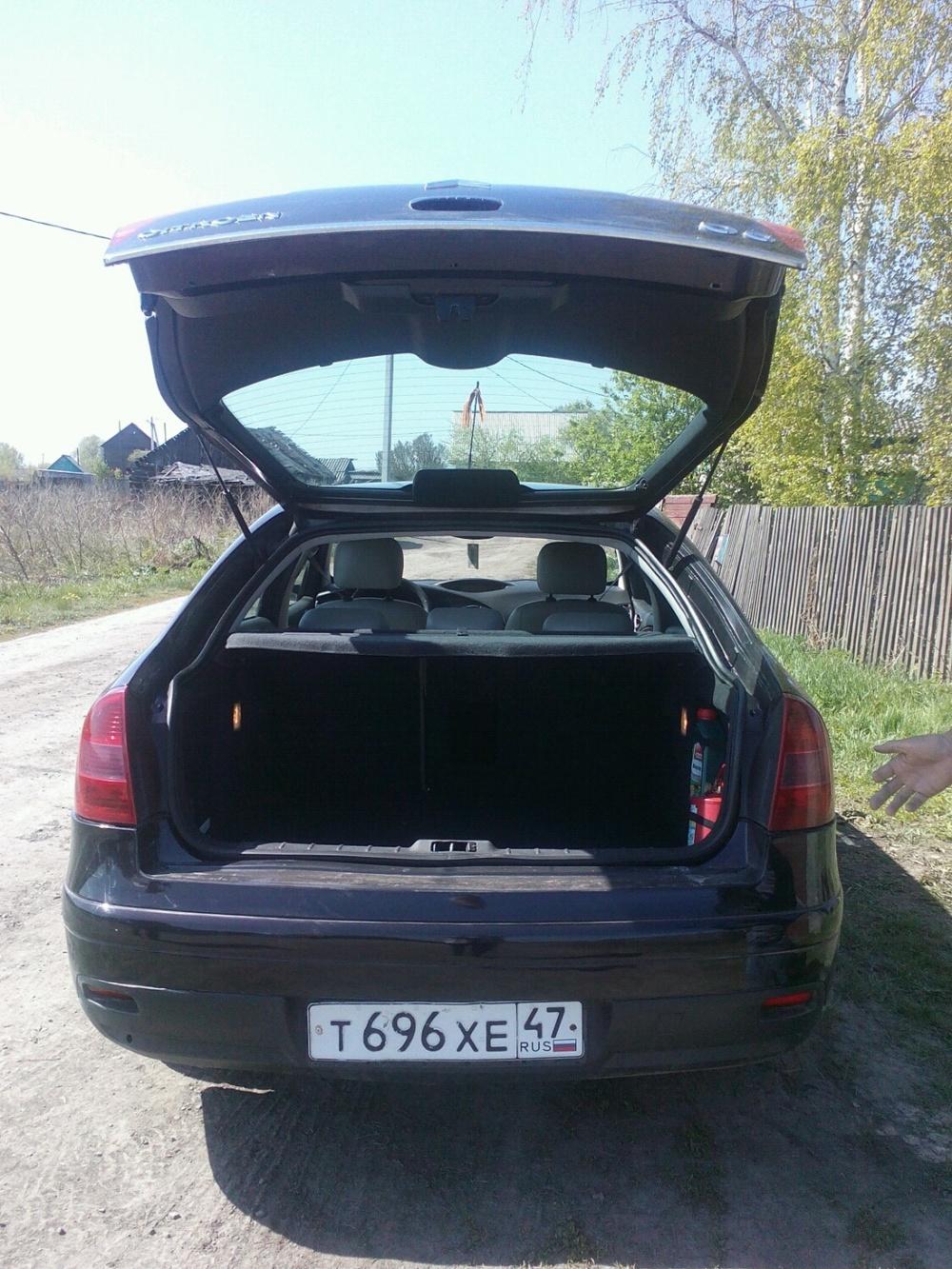 Подержанный Citroen C5, отличное состояние, коричневый , 2005 года выпуска, цена 380 000 руб. в Кемеровской области