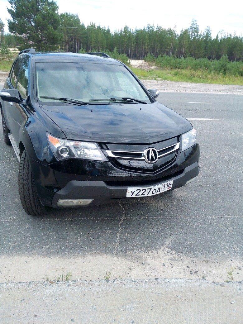 Подержанный Acura MDX, хорошее состояние, черный , 2007 года выпуска, цена 850 000 руб. в ао. Ханты-Мансийском Автономном округе - Югре