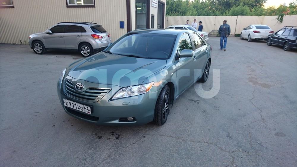 Подержанный Toyota Camry, отличное состояние, зеленый , 2007 года выпуска, цена 650 000 руб. в Саратове