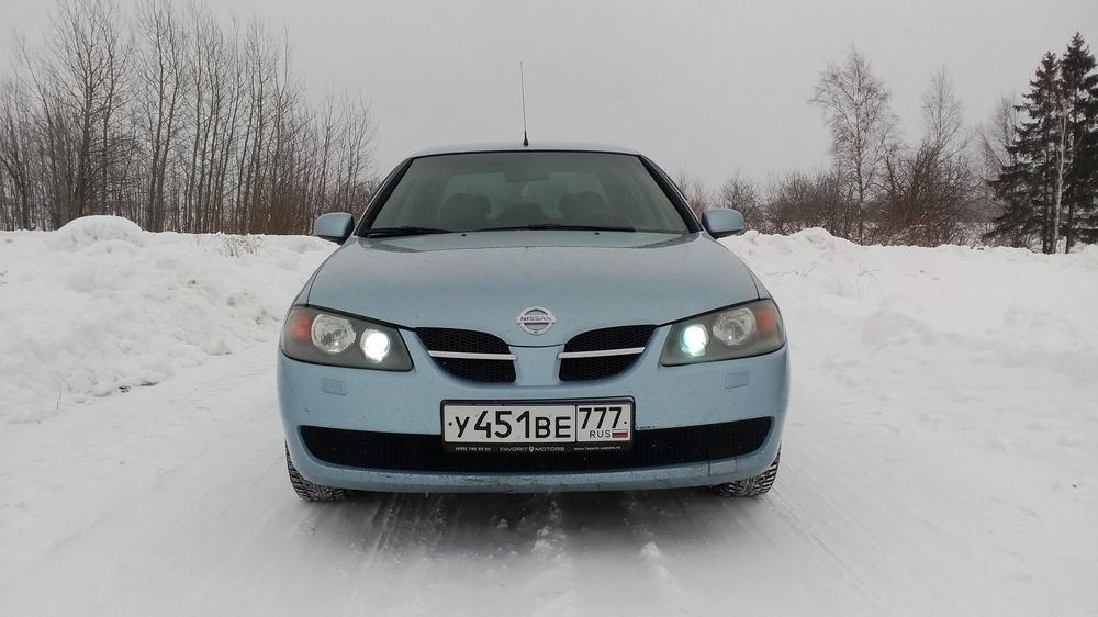 Подержанный Nissan Almera, отличное состояние, голубой , 2004 года выпуска, цена 250 000 руб. в Костромской области