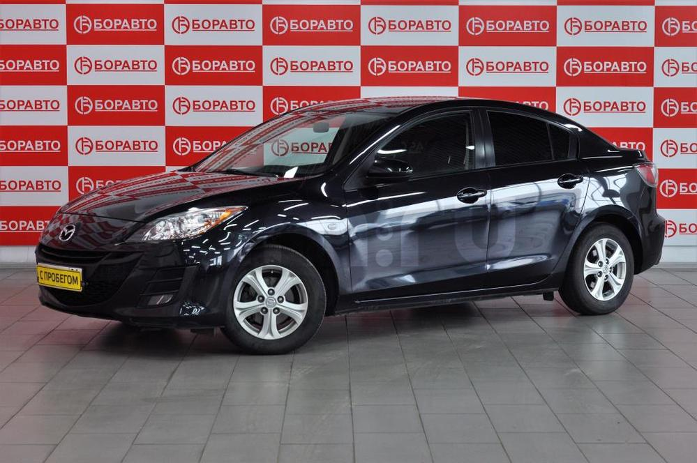 Mazda 3 с пробегом, черный , отличное состояние, 2010 года выпуска, цена 450 000 руб. в автосалоне  ()