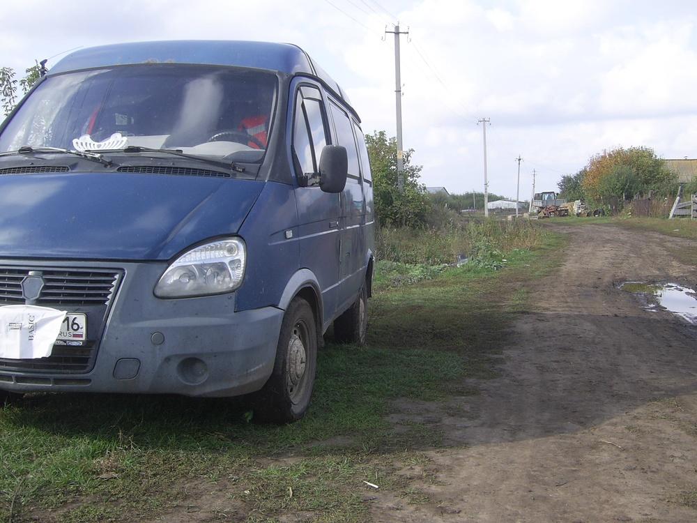 Подержанный ГАЗ Соболь, среднее состояние, синий , 2004 года выпуска, цена 95 000 руб. в республике Татарстане