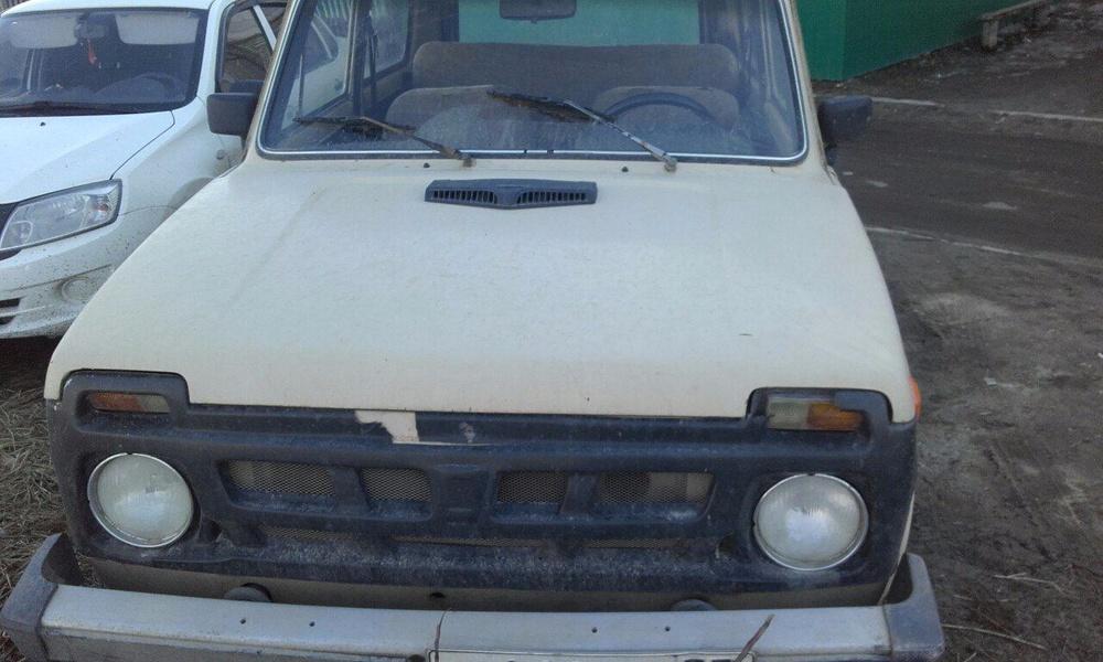 Подержанный ВАЗ (Lada) 4x4, среднее состояние, золотой , 1987 года выпуска, цена 57 000 руб. в Ульяновской области