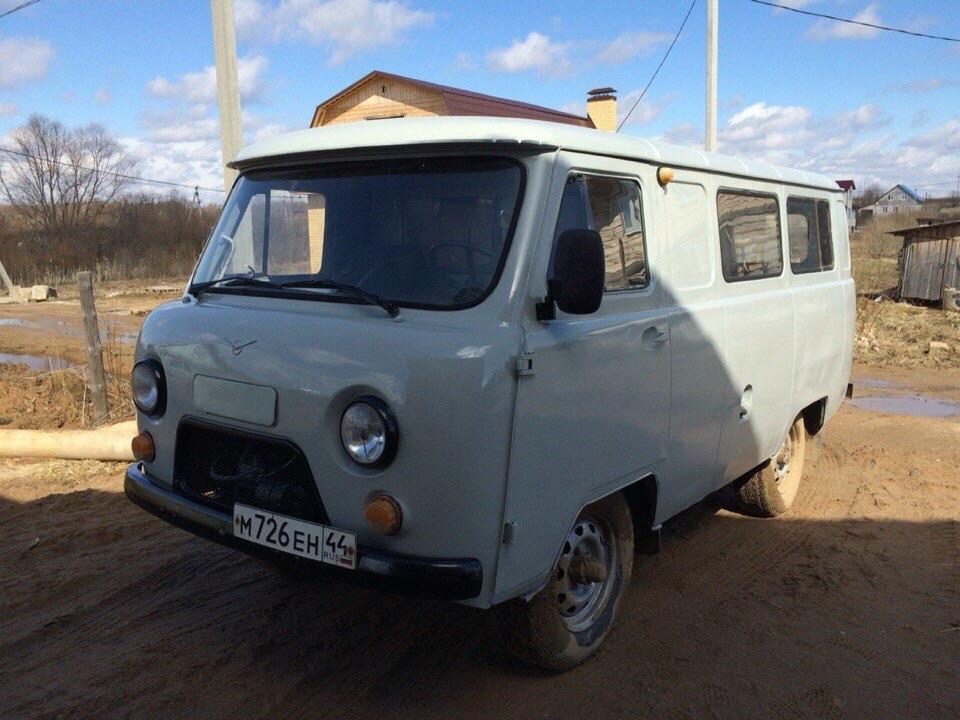 Подержанный УАЗ 39625, хорошее состояние, серебряный , 2003 года выпуска, цена 130 000 руб. в Костромской области