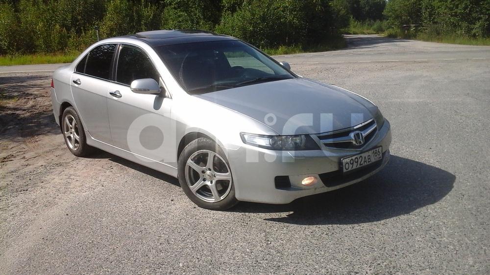 Подержанный Honda Accord, хорошее состояние, серебряный , 2007 года выпуска, цена 440 000 руб. в ао. Ханты-Мансийском Автономном округе - Югре