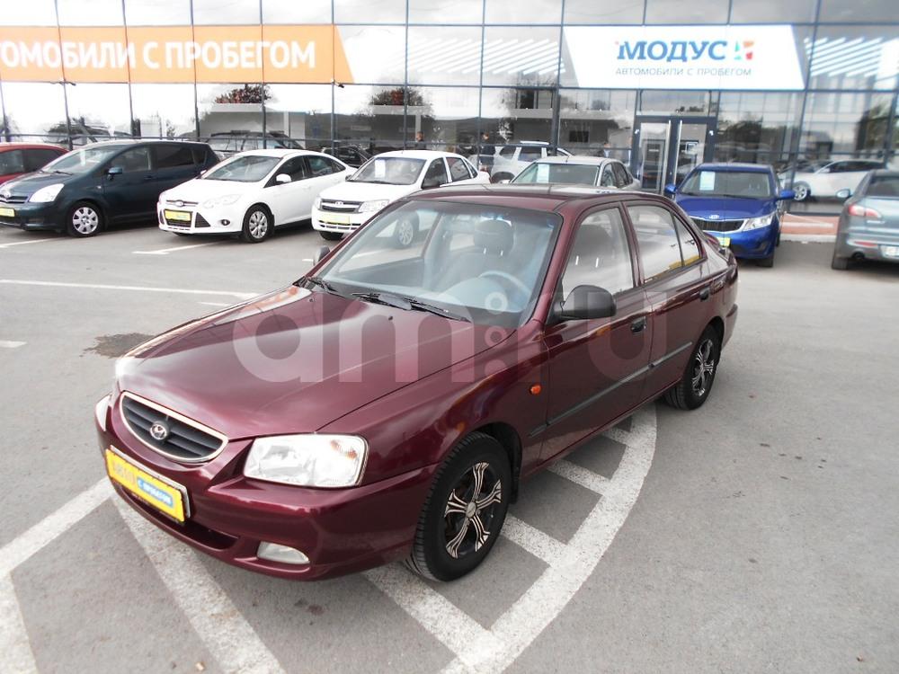 Hyundai Accent с пробегом, красный , отличное состояние, 2011 года выпуска, цена 268 000 руб. в автосалоне  ()