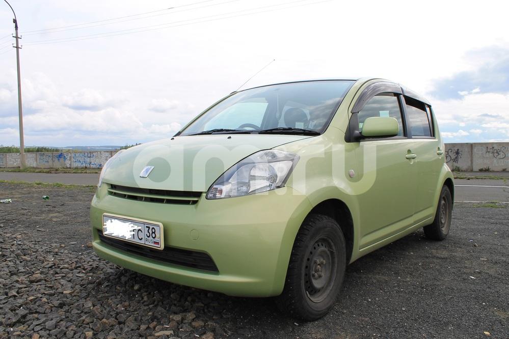 Подержанный Toyota Passo, хорошее состояние, зеленый , 2005 года выпуска, цена 250 000 руб. в Иркутской области
