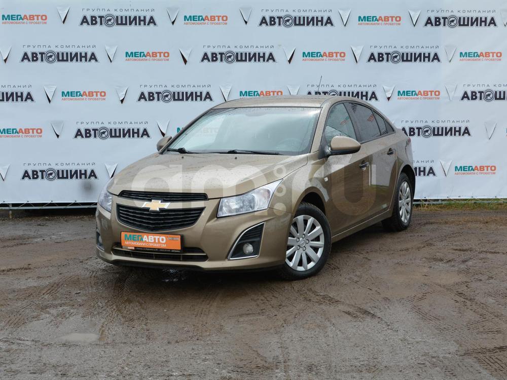 Chevrolet Cruze с пробегом, бежевый металлик, отличное состояние, 2013 года выпуска, цена 499 000 руб. в автосалоне Мега Авто Калуга (Калуга, ул. Зерновая, д. 28)