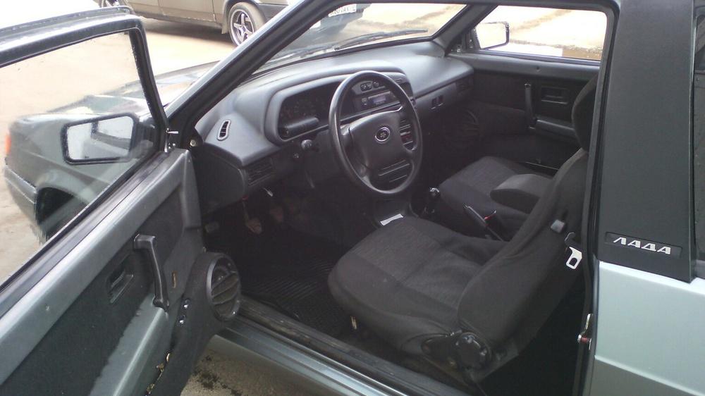Подержанный ВАЗ (Lada) 2113, хорошее состояние, зеленый металлик, 2008 года выпуска, цена 75 000 руб. в Ульяновской области