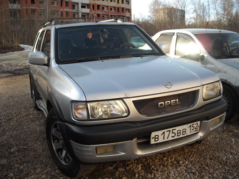 Подержанный Opel Frontera, среднее состояние, серебряный металлик, 2000 года выпуска, цена 350 000 руб. в Нижнем Новгороде