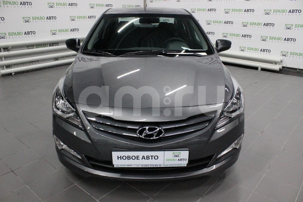 Hyundai Solaris с пробегом, серый металлик, отличное состояние, 2017 года выпуска, цена 570 000 руб. в автосалоне Браво Авто (Уфа, проезд Базисный, д. 2Д)