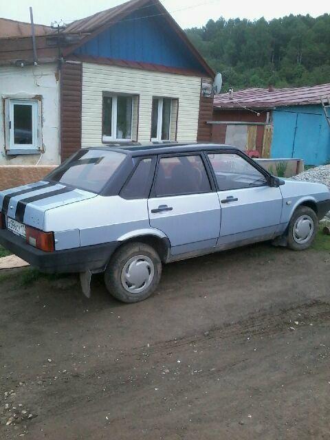 Подержанный ВАЗ (Lada) 2109, отличное состояние, серебряный , 2004 года выпуска, цена 65 000 руб. в Челябинской области