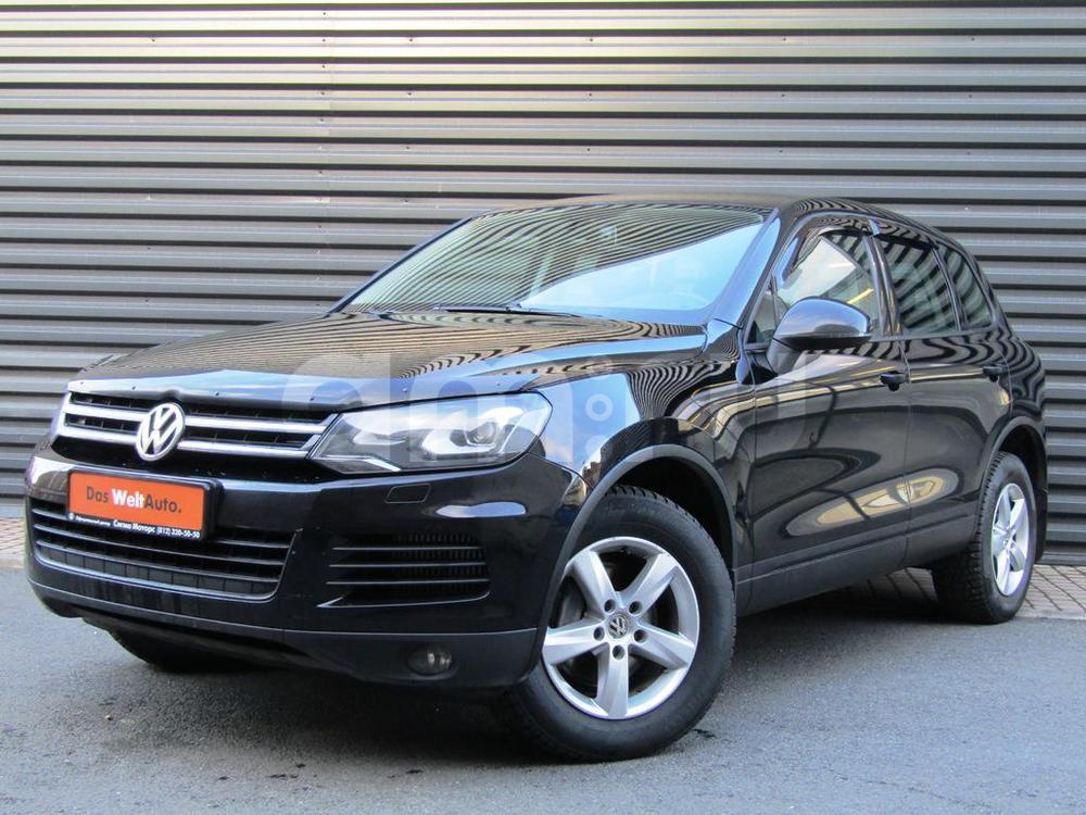 Volkswagen Touareg с пробегом, черный , отличное состояние, 2013 года выпуска, цена 1 812 600 руб. в автосалоне  ()
