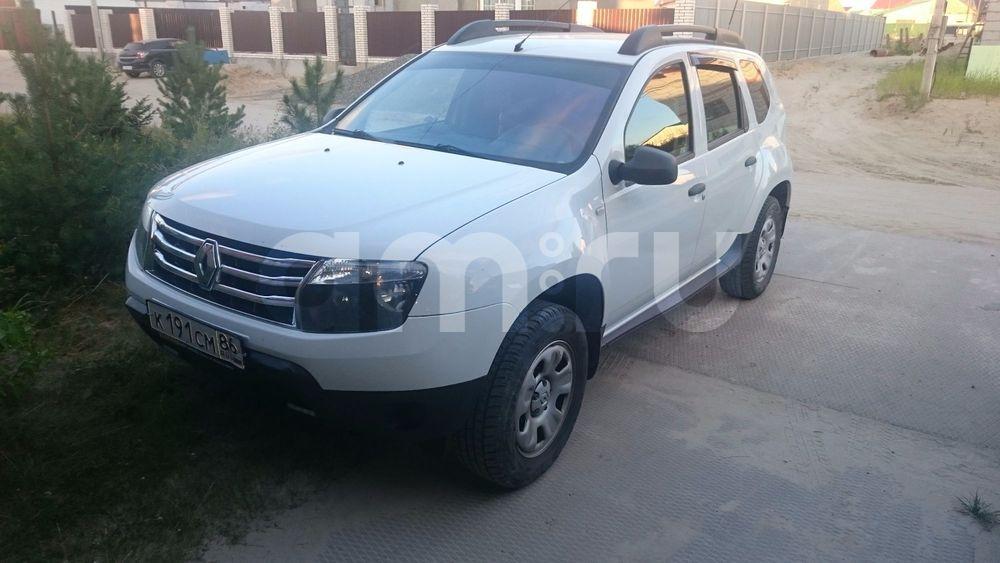 Подержанный Renault Duster, хорошее состояние, белый , 2013 года выпуска, цена 550 000 руб. в ао. Ханты-Мансийском Автономном округе - Югре