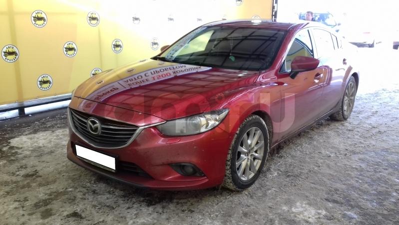 Mazda 6 с пробегом, красный , отличное состояние, 2013 года выпуска, цена 1 100 000 руб. в автосалоне  ()