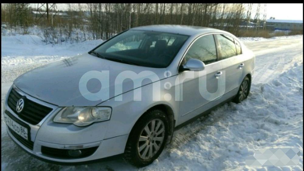 Подержанный Volkswagen Passat, хорошее состояние, серебряный , 2008 года выпуска, цена 550 000 руб. в ао. Ханты-Мансийском Автономном округе - Югре