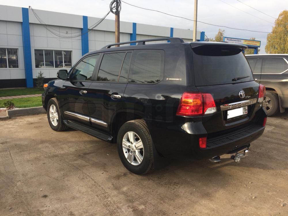 Подержанный Toyota Land Cruiser, отличное состояние, черный , 2014 года выпуска, цена 3 200 000 руб. в республике Татарстане