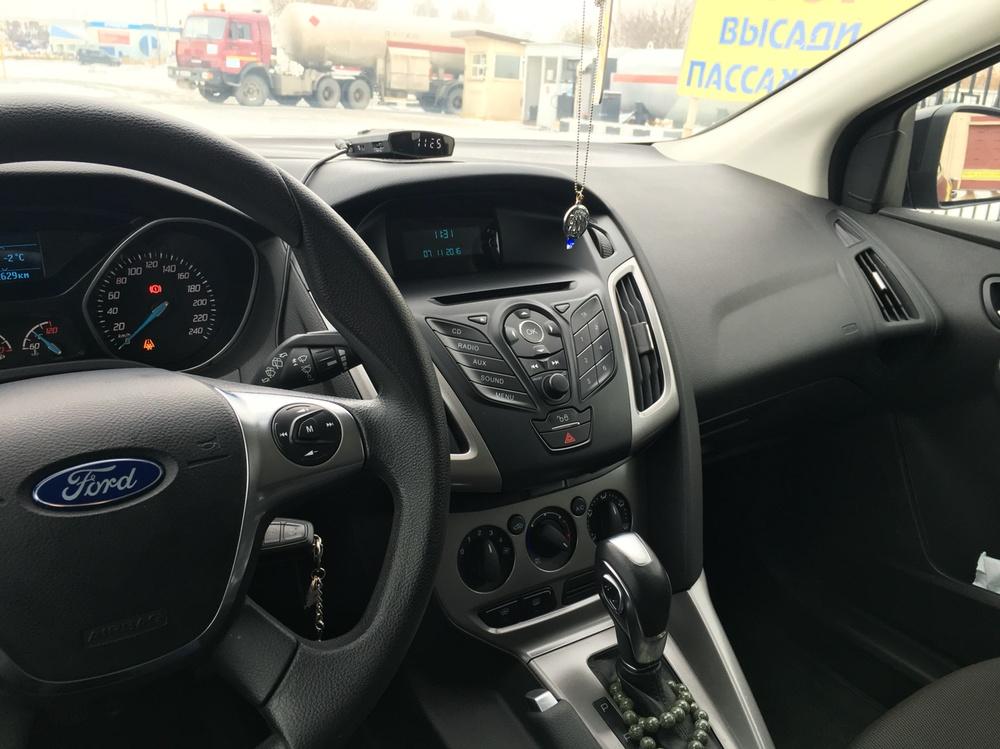 Подержанный Ford Focus, отличное состояние, черный , 2014 года выпуска, цена 700 000 руб. в республике Татарстане