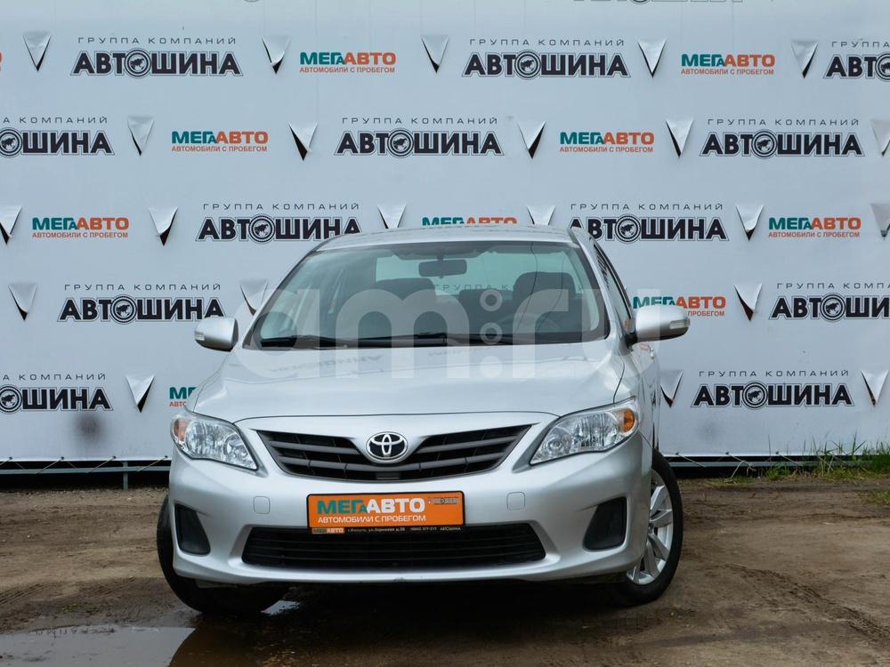 Toyota Corolla с пробегом, серебряный , отличное состояние, 2012 года выпуска, цена 630 000 руб. в автосалоне Мега Авто Калуга (Калуга, ул. Зерновая, д. 28)