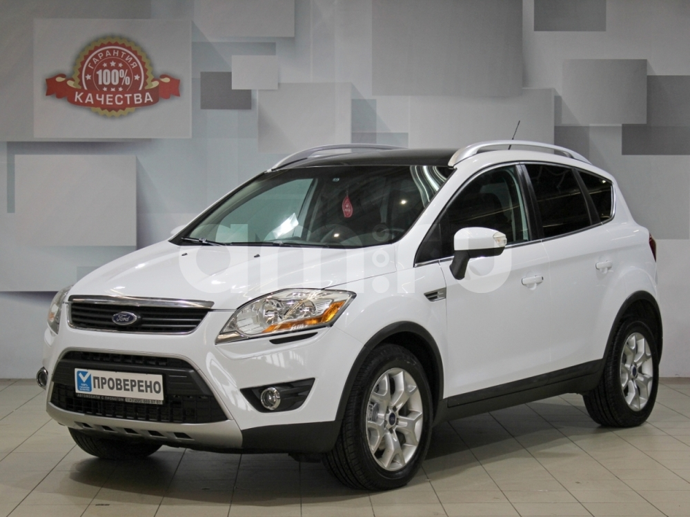 Ford Kuga с пробегом, белый , отличное состояние, 2011 года выпуска, цена 799 000 руб. в автосалоне АЦ Атлантис (Москва, ш. Волоколамское, д. 103 (ст. м. Волоколамская))