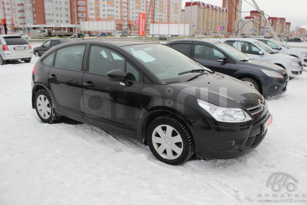 Citroen C4 с пробегом, черный , отличное состояние, 2010 года выпуска, цена 415 000 руб. в автосалоне  ()