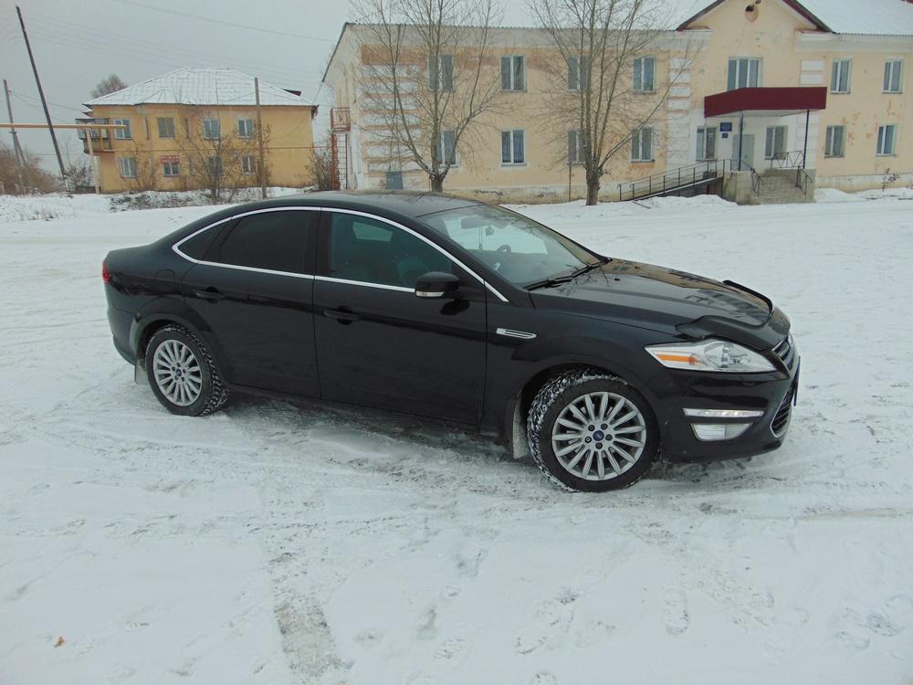 Подержанный Ford Mondeo, отличное состояние, черный , 2011 года выпуска, цена 670 000 руб. в Челябинской области