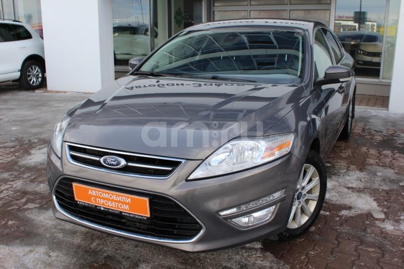 Ford Mondeo с пробегом, коричневый , отличное состояние, 2012 года выпуска, цена 629 000 руб. в автосалоне Автобан-Запад (Екатеринбург, ул. Металлургов, д. 67)